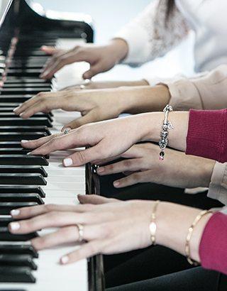 צור קשר ויעץ מקוון במוזיקה