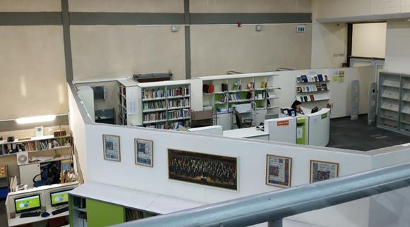 מבט על הספרייה