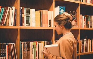 באנר ספריה מבחר עבודות תזה ופרוייקט גמר